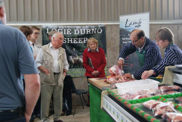 Performance to plate OPEN DAY At Logie Durno Sheep