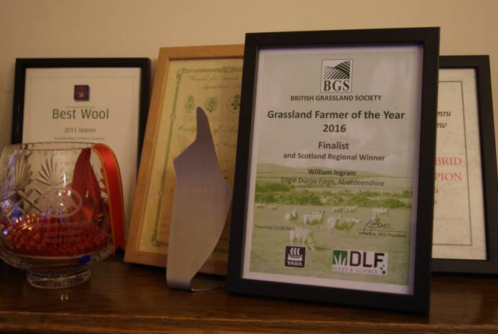 Top three in UK Grassland Farmer of the Year 2016